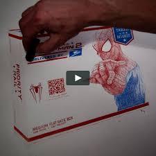 usps spider man 2 flat rate box timelapse on vimeo