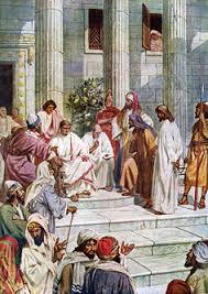 imagenes de jesus ante pilato jesús ante pilato 20121125