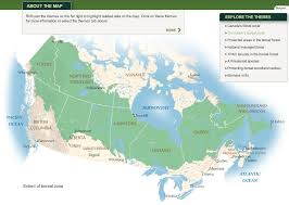 Churchill Canada Map by The Canadian Shield