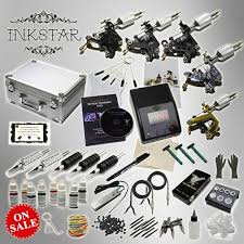 tattoo kit without machine tattoo kit inkstar ace kit a 5 tattoo machine kit with case
