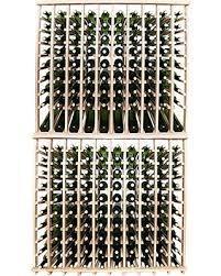 Oak Wine Cabinet Sale Great Deal On Wineracks Premium Cellar Series 200 Bottle Wine Rack