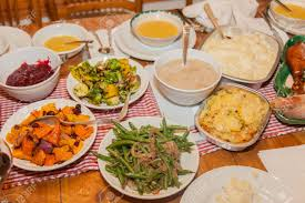 pic of thanksgiving dinner the majority of the dishes in the traditional american version