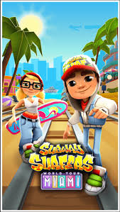 subway surfer apk subway surfers miami 1 75 0 mod apk unlimited coins and