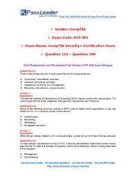 2016 new sy0 401 exam dumps for free vce and pdf 101 200 by