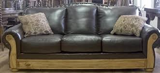 Rustic Leather Armchair Rustic Furniture Depot Home
