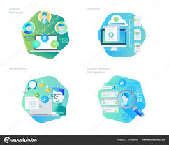 design management careers material design icons set for human resources recruitment hr