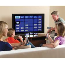 the authentic at home jeopardy hammacher schlemmer