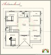 1200 square feet kerala house plan with beautiful elevation g f plan