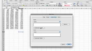 how to insert excel page numbers youtube