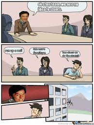 Meme Jackie Chan - boardroom suggestion jackie chan is not pleased by danielbjqz