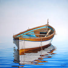 beginners paintings of boats and the sea google search art