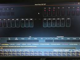 what do different colours mean what do different colours of fixture parameters mean and why are