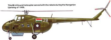Wings Palette Mil Mi 2 by Wings Palette Mil Mi 4 Z 5 Hound Hungary Uprising 1956