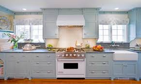 Light Blue Kitchen Cabinets HBE Kitchen - Blue kitchen cabinets