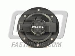 dodge challenger fuel billet aluminum fuel door assembly matte black