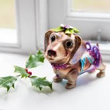 christmas dachshund decoration u2013 decoration image idea