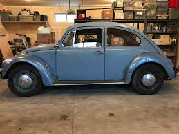 blue volkswagen beetle 1970 thesamba com beetle late model super 1968 up view topic