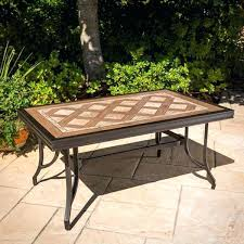 ceramic tile table top tile table top design ideas dazzling design ideas tiled fire pit