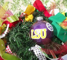 lsu merry little christmas ornament wish list pinterest