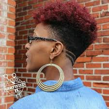 women haircut tapered neck behind ear pin by renee s on hair pinterest natural hair style and hair