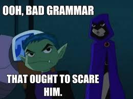 Grammar Meme - grammar meme by individualitya on deviantart