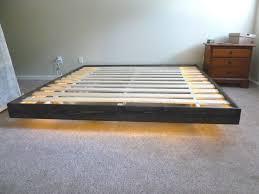 Building Platform Bed Bedroom King Size Frame Plans Make Your Own Floating For