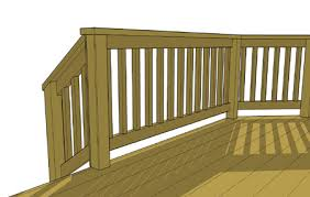Stair Banister Height Decks Com Sweep Space Bottom Deck Rail