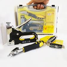 Electric Staple Gun Upholstery Aliexpress Com Buy Nail Staple Gun With Puller Staple Remover