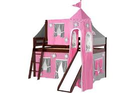 Princess Bunk Bed With Slide Princess Castle Loft Beds