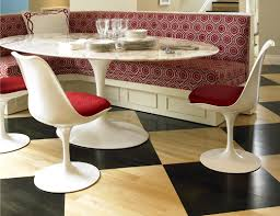 oval dining room tables knoll saarinen oval dining table modern planet attractive intended