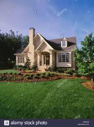 brick house cottage style house design plans
