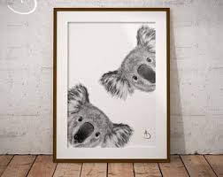 koala print etsy