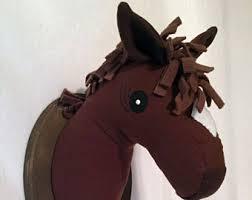 fake horse head fake horse head etsy
