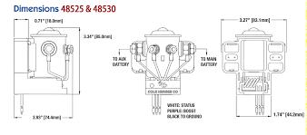 cole hersee 200a smart battery isolator 48530 u2013 ac dc marine inc