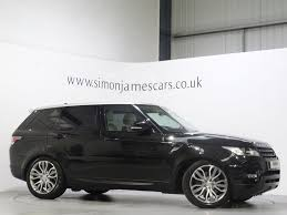land rover black used santroini black land rover range rover sport for sale