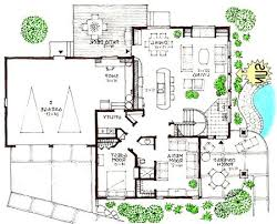 modern house floor plan extremely creative 1 architectural plans for contemporary homes