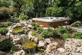 Backyard Landscaping On A Budget 63 Tub Deck Ideas Secrets Of Pro Installers U0026 Designers