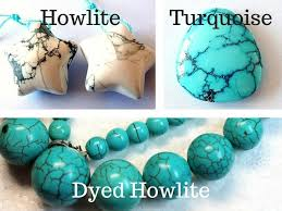real turquoise stone necklace images How to tell the difference between turquoise and dyed howlite jpg