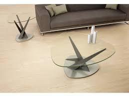 Crystal Coffee Table by Crystal Coffee Table Triangle Shape Modern Sense Furniture