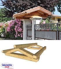 struttura in legno per tettoia copertura in legno per entrata pedonale a strangolagalli kijiji