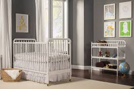 Curtains For Green Walls Bedroom Gorgeous Nursery Design Using White Jenny Lind Crib Plus