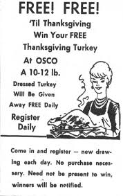 such a deal a look at thanksgiving ads from the jg tc archives