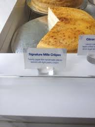 signature mille crepe picture of lady m cake boutique new york