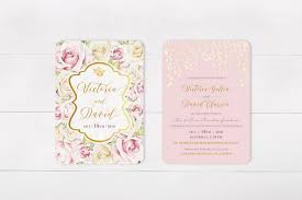 wedding invitations kerry 28 gorgeous floral wedding invitations for summer