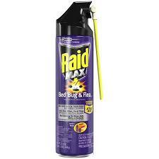 lights out bed bug killer raid max bed bug flea killer 17 5oz walmart com
