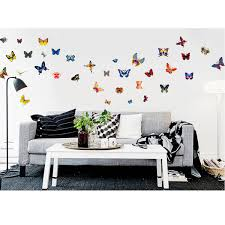 42pcs diy colourful butterflies home removable decor wall stickers 42pcs diy colourful butterflies home removable decor wall stickers kids room art decal