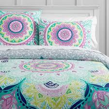 Swirly Paisley Duvet Cover Moondance Mandala Duvet Cover Full Queen Multi Sophia U0027s Room