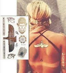 flash inspired metallic gold temporary tattoos body art indian