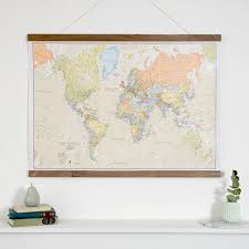Map Home Decor 17 Best Cartes Du Monde Images On Pinterest World Map Poster
