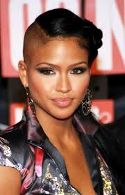 bald hairstyles for black women livesstar com when it comes to looking classy with a half shaved head look no
